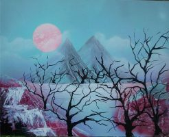 Pink Moon by JessicaSoulier