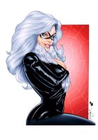 Fernandez's Black Cat - Colors by TracyWong