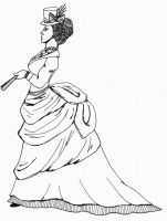 Victorian Woman- Blank by Not-A-Tree-225