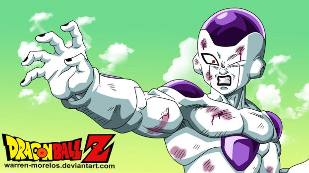frieza damaged by warren-morelos