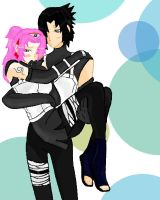 SasuSaku_ANBU by StereotypicallyAsian