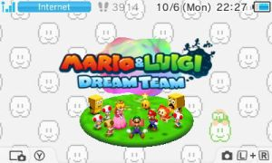 Mario and Luigi:  Dream Team by UKD-DAWG
