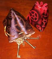 Steampunk Drawstring Pouch by Steampunked-Out