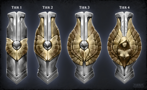Tower Shield Concepts by Myrmirada