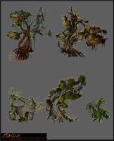 Zydeco: Infected Tree Variations by SinCommonStitches