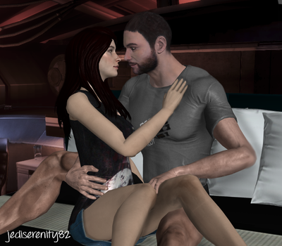 When I Look At You - Shoker {Mass Effect} by jediserenity82