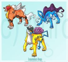 Legendary Dogs by Ahr0