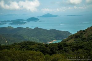 View form the Big Buddha by Z-Designs