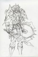 Warrior Sketch by ChineseWarri0r