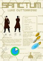 Sanctum Reference - Luke Outterridge by Crapcarp