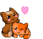 For chrismartinisababe- Kitties by Deidara45