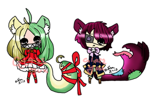 GlassYuu COLLAB Lil Monstuhs {CLOSED} by Yuu-Tanni