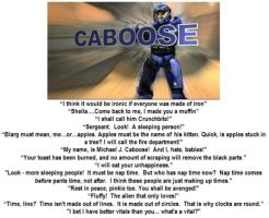 Fav Caboose mottos by ShepardSoldier