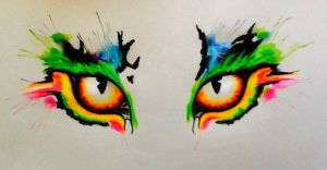 Tiger's eyes by MarieLouise96