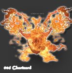 Charizard Fire Version by Art-tin