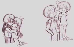 Summer Love Sketches 9 by Celebi9