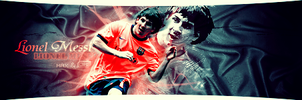Lionel messi by D3WABATE