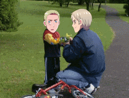 Germany and Prussia Bike Gif by Blueyedgirl27