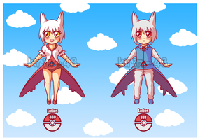 Gijinka adopt Latios and Latias OPEN by kirin-48