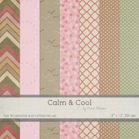 FREE Digital Paper Pack by Rene Blooms by SunnyFunLane