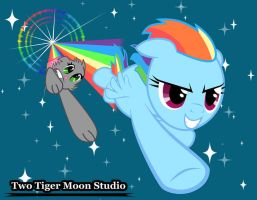 Rainboom Race by TwoTigerMoon