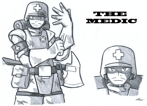 The Medic by Gold-Paladin