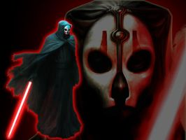 Darth Nihilus by ScrawnyPaleMan