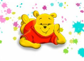 Winnie the Pooh by Lufca