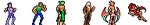 Old 32x32 Sprites by JustinGameDesign