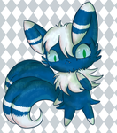 Nyo the Meowstic by fuwante-chan