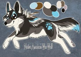 Custom Puppy for DirtyMutt-Adopts by SillyTheWolf