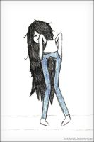 Is Marceline Mooning Us? by D-M-8-1
