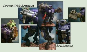 Looted Crisis Battlesuit by Dgs-Krieger