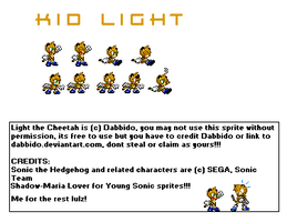 Kid Light sprites by dabbido