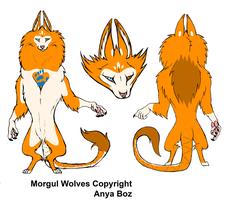 Morgul Wolf Design 1 by rainbowpanda101