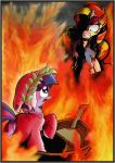 Welcome to Hell, Twilight Dante Sparkle! by labba94