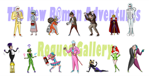 HMB: Rogues Gallery by L-word