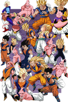Buu Saga Large by RuokDbz98