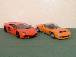 Lambo Old and New by Venom800TT