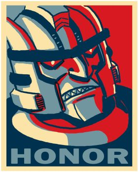 Dinobot Honor poster by itswalky