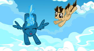 Pegasus for a Day (Contest Entry) by PaintbrushPonyArtist