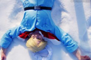 [APH] - Snow Angel. by CelesianFaerie