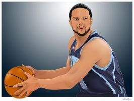 Deron Williams by usman-gfx