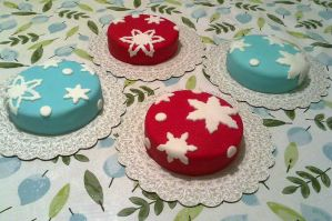 Winter Themed Cakes by hollyann