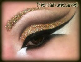 Gold is in the air - Make Up by TheEmanueleCastelli
