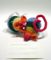 Amigurumi Rainbow Mouse by Dragonrose36