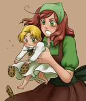 Commission: APH + LH: Cookies by zulenha