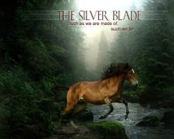 Silver blade by HorseWhisperer101