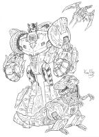 Transformers Energon Grimlock by KneonT