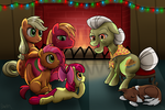 Hearth's Warming Eve by DawnMistPony
